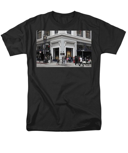 San Francisco Shreve and Company on Grant Street - 5D17920 T-Shirt by Wingsdomain Art and Photography