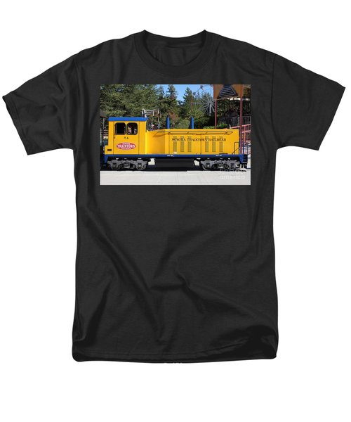 Scale Locomotive - Traintown Sonoma California - 5D19237 T-Shirt by Wingsdomain Art and Photography