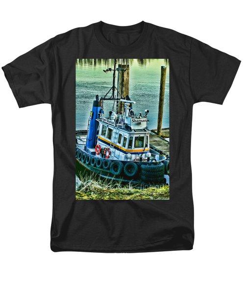 Shaman Tug-HDR T-Shirt by Randy Harris