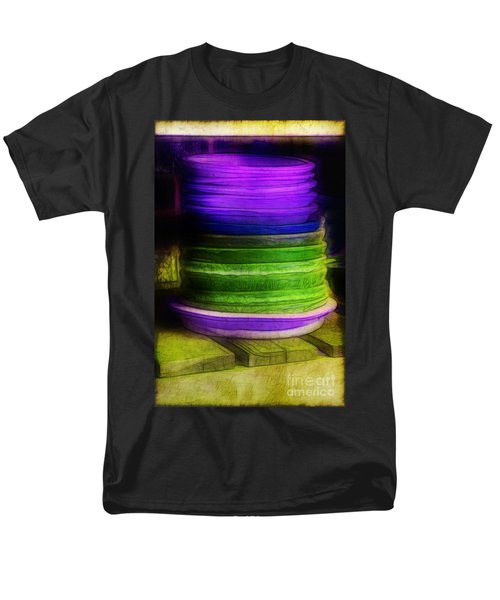 Stack of Saucers T-Shirt by Judi Bagwell
