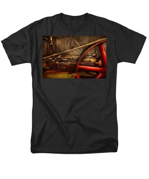 Steampunk - Machine - The wheel works T-Shirt by Mike Savad