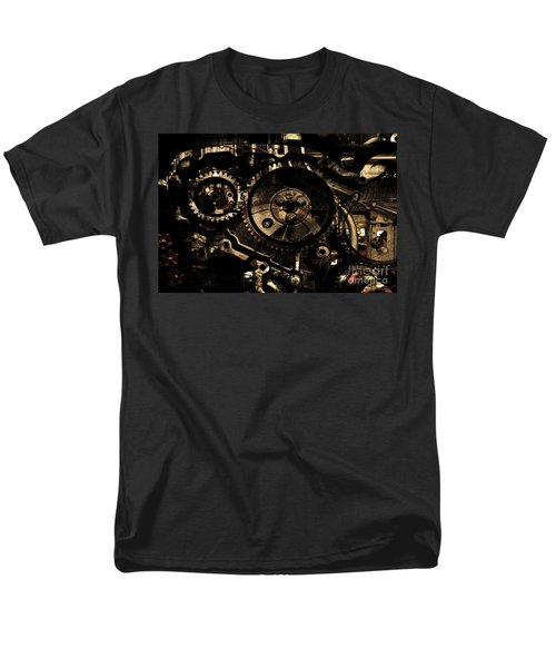 Steampunk Personal Decompression Chamber Model 39875DA78803 Fully Accessorized . Gold Plated Luxury  T-Shirt by Wingsdomain Art and Photography