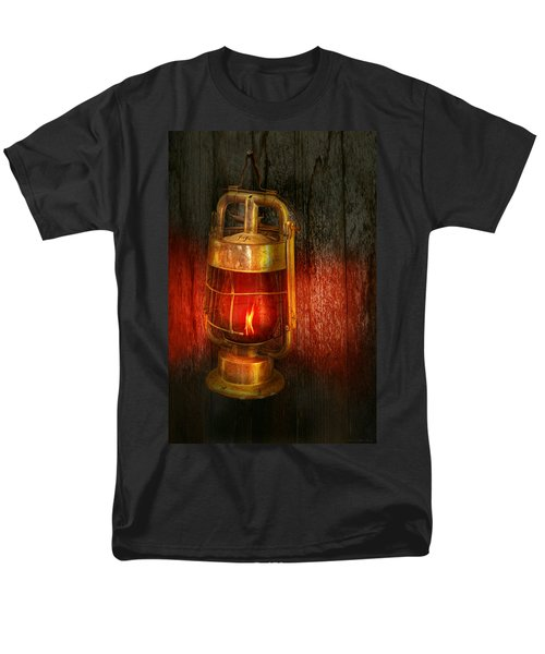 Steampunk - Red light district T-Shirt by Mike Savad