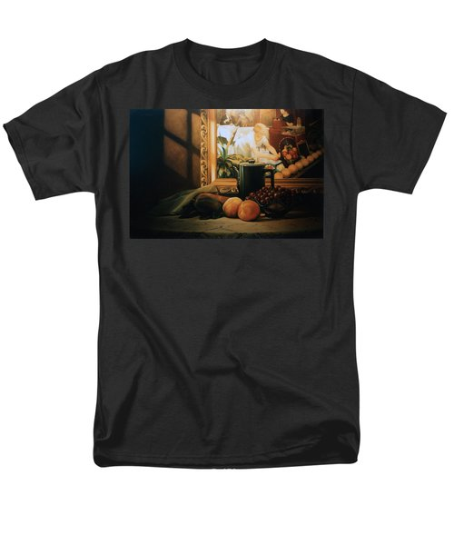 Still Life With Hopper Men's T-Shirt  (Regular Fit) by Patrick Anthony Pierson