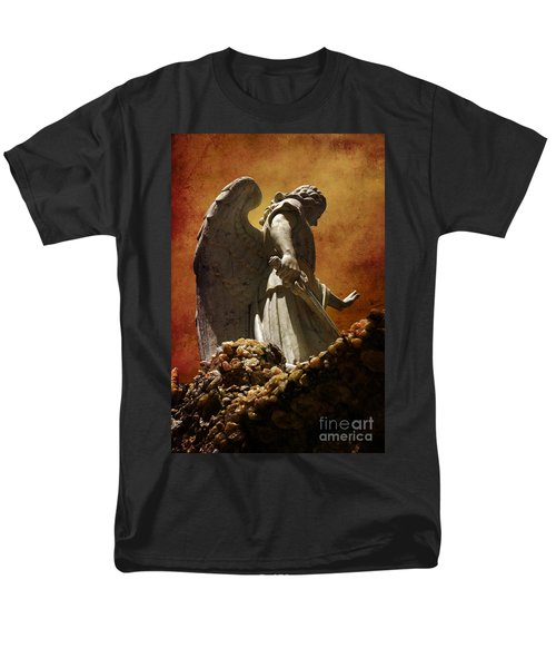 STOP in the name of God T-Shirt by Susanne Van Hulst