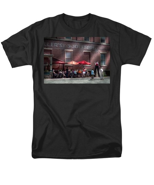 Storefront - Bastile Day in Frenchtown T-Shirt by Mike Savad