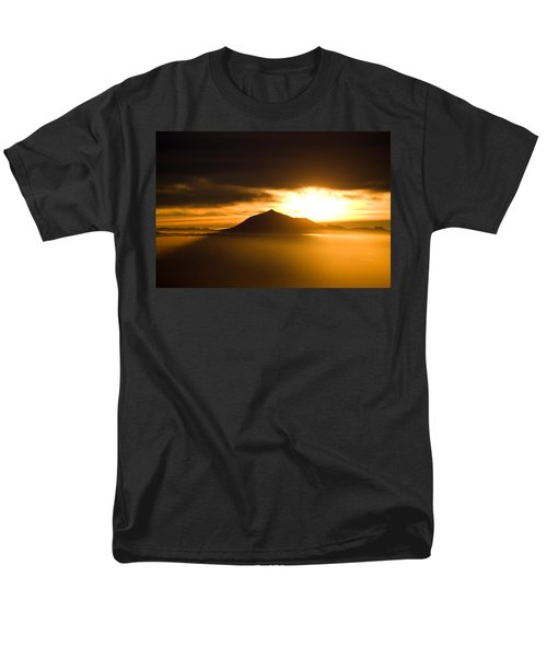 sunrise behind Mount Teide T-Shirt by Ralf Kaiser