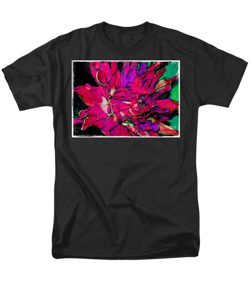 Swirly Fabric Flower T-Shirt by Judi Bagwell