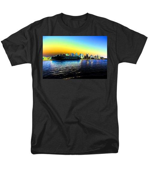 Sydney In Color Men's T-Shirt  (Regular Fit) by Douglas Barnard