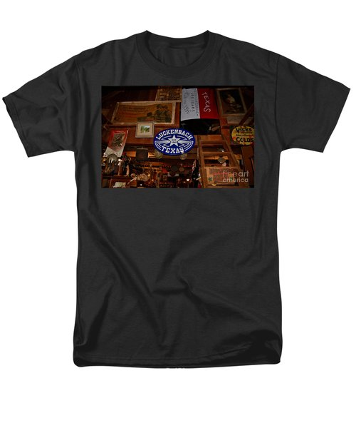 The General Store in Luckenbach TX T-Shirt by Susanne Van Hulst