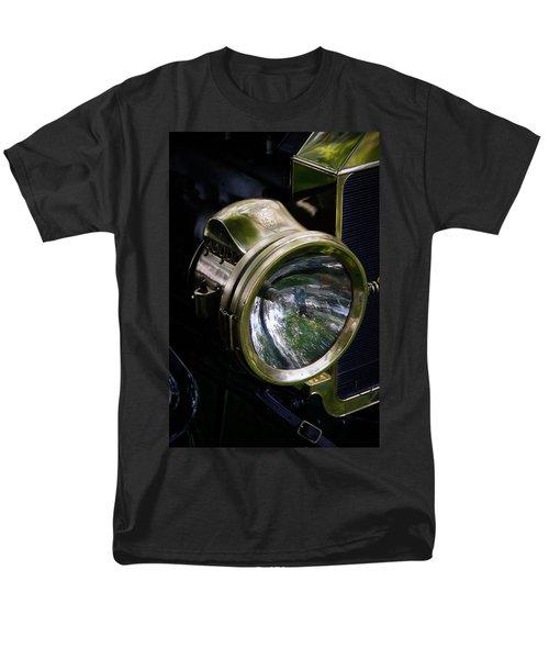 The Old Brass Ford Headlight T-Shirt by Steve McKinzie
