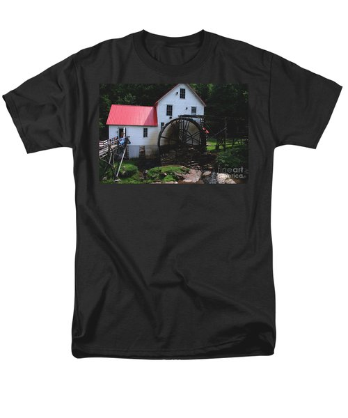 The Old Mill 1886 in Cherokee North Carolina T-Shirt by Susanne Van Hulst