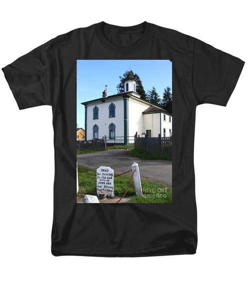 The Potter School House . Bodega Bay . Town of Bodega . California . 7D12473 T-Shirt by Wingsdomain Art and Photography