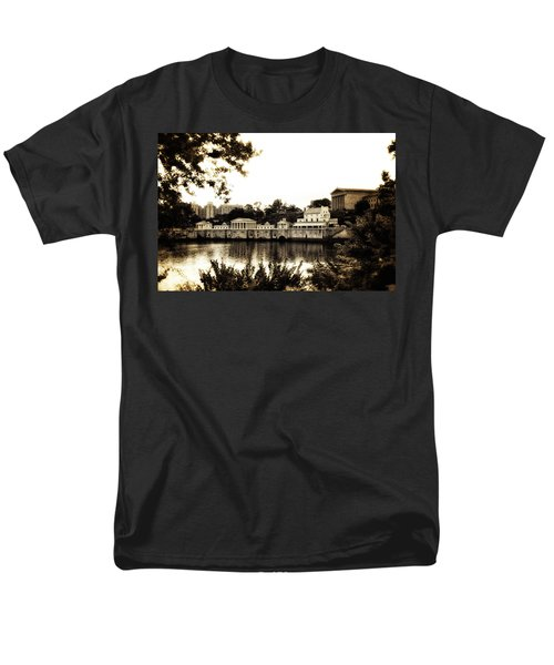 The Waterworks in Sepia T-Shirt by Bill Cannon