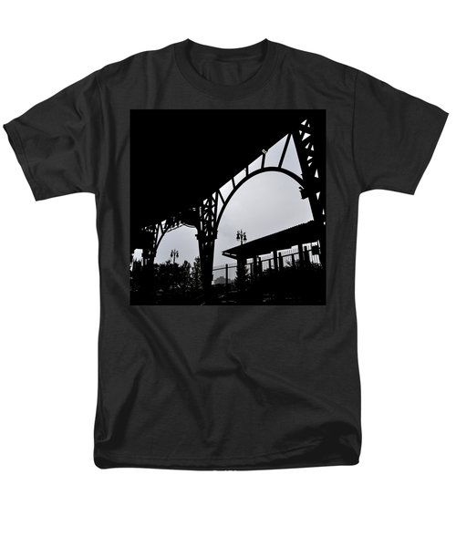 Tiger Stadium Silhouette T-Shirt by Michelle Calkins