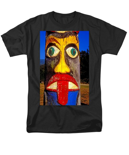 Totem pole with tongue sticking out T-Shirt by Garry Gay