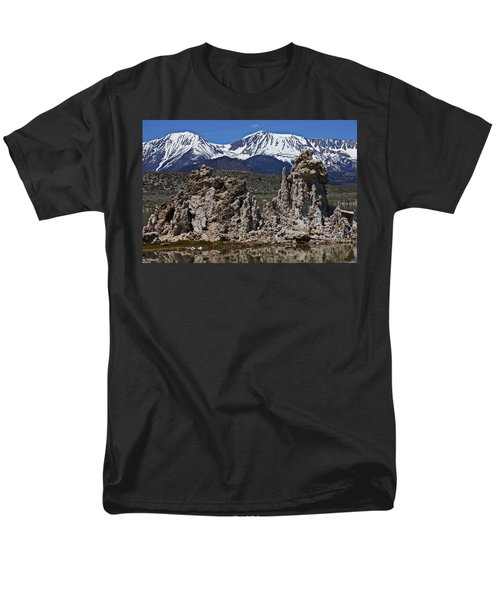 Tufa at Mono Lake California T-Shirt by Garry Gay