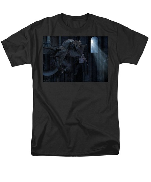 Under The Moonlight Men's T-Shirt  (Regular Fit) by Lourry Legarde