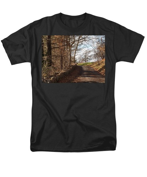up over the hill T-Shirt by Robert Margetts