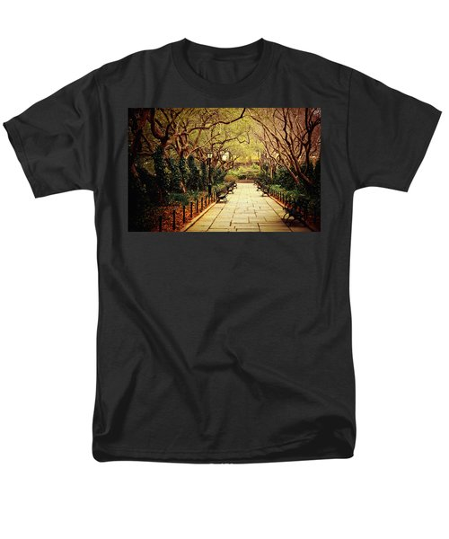 Urban Forest Primeval - Central Park Conservatory Garden in the Spring T-Shirt by Vivienne Gucwa