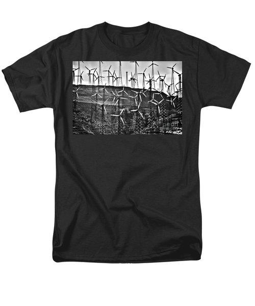 Windmills by Tehachapi  T-Shirt by Susanne Van Hulst