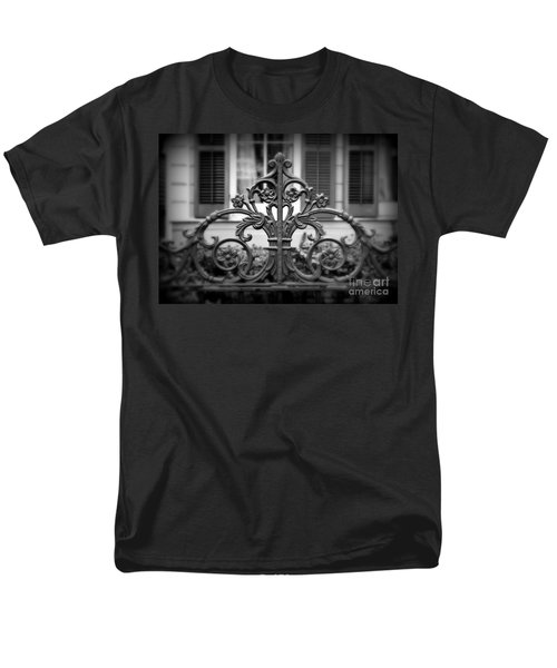 Wrought Iron Detail T-Shirt by Perry Webster