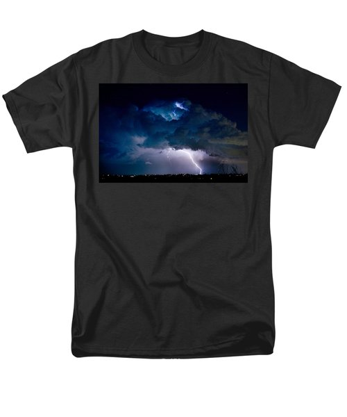 Clouds of Light Lightning Striking Boulder County Colorado T-Shirt by James BO  Insogna