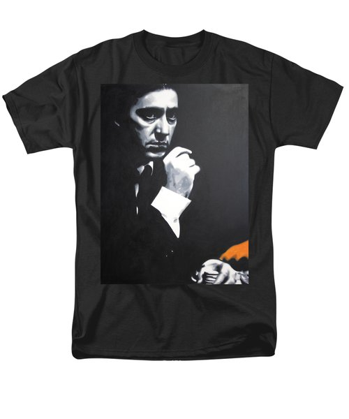 - The Godfather - T-Shirt by Luis Ludzska