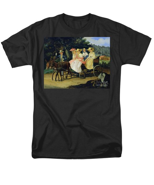 A Run Men's T-Shirt  (Regular Fit) by Aleksandr Pavlovich Bryullov