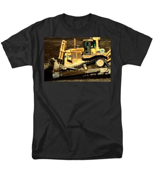CAT Bulldozer . 7D10945 T-Shirt by Wingsdomain Art and Photography