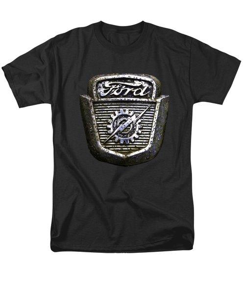 Ford Emblem Men's T-Shirt  (Regular Fit) by Debra and Dave Vanderlaan