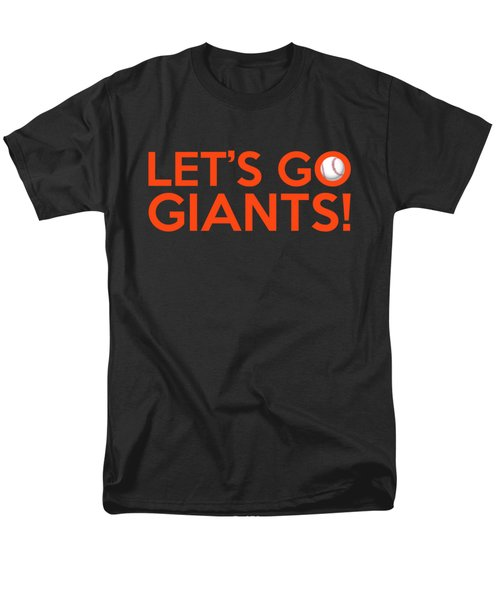 Let's Go Giants Men's T-Shirt  (Regular Fit) by Florian Rodarte