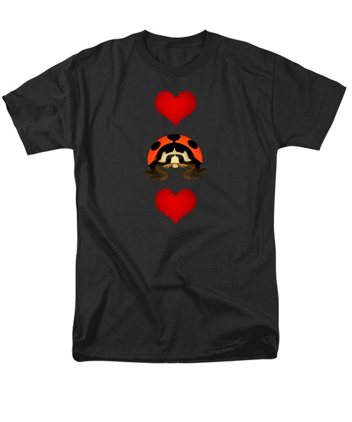 Love Bug Vertical Men's T-Shirt  (Regular Fit) by Sarah Greenwell
