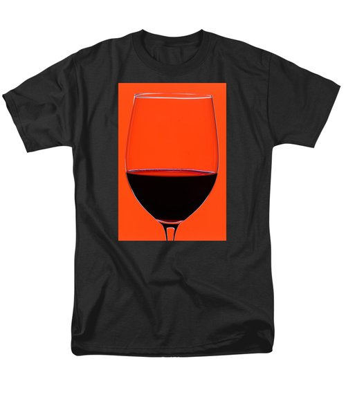 Red Wine Glass T-Shirt by Frank Tschakert
