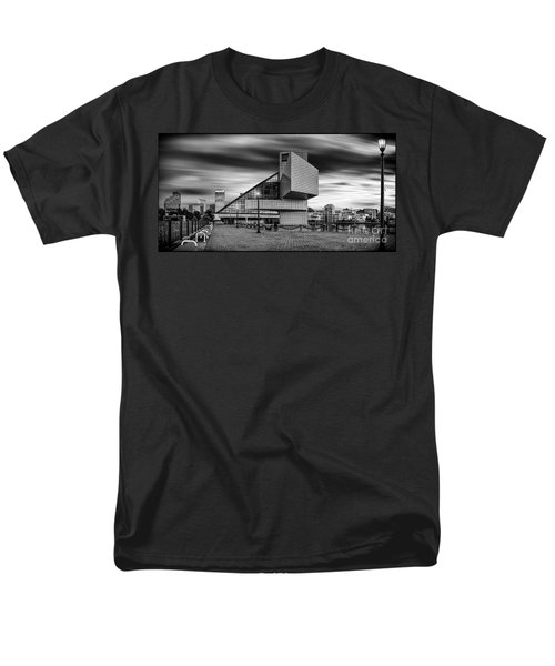 Rock And Roll Hall Of Fame  Men's T-Shirt  (Regular Fit) by James Dean
