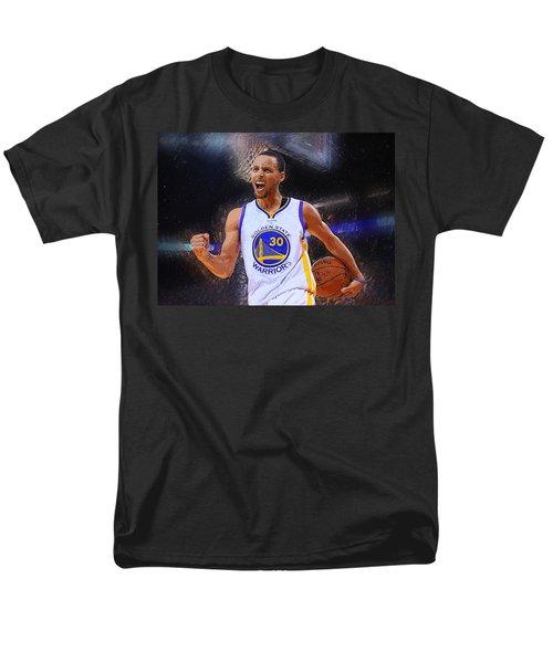 Stephen Curry Men's T-Shirt  (Regular Fit) by Semih Yurdabak