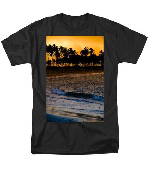 Sunset At The Beach T-Shirt by Sebastian Musial