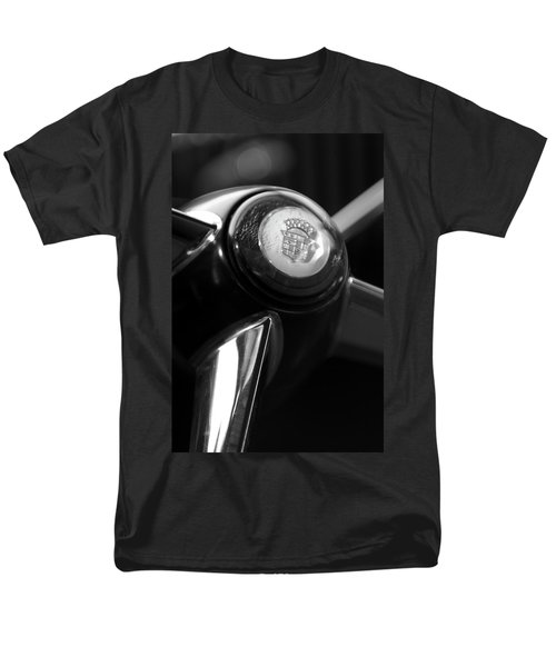 1947 Cadillac Steering Wheel T-Shirt by Jill Reger