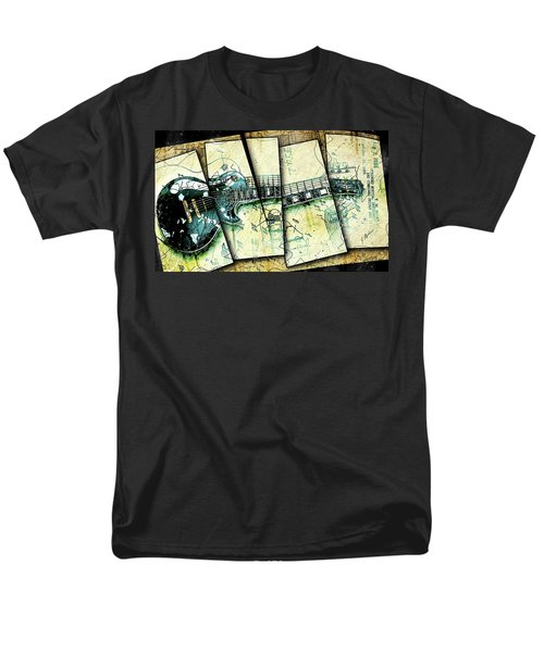 1955 Les Paul Custom Black Beauty V2 Men's T-Shirt  (Regular Fit) by Gary Bodnar