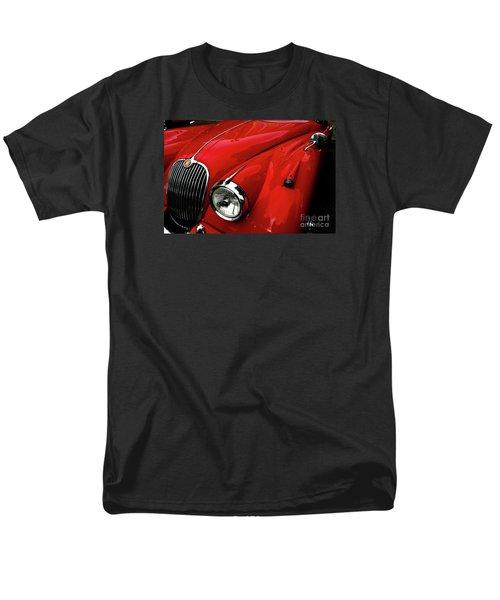 Men's T-Shirt  (Regular Fit) featuring the photograph 1960s Jaguar by M G Whittingham