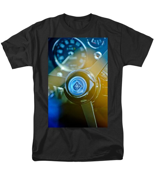 1965 Aston Martin DB5 Coupe RHD Steering Wheel T-Shirt by Jill Reger