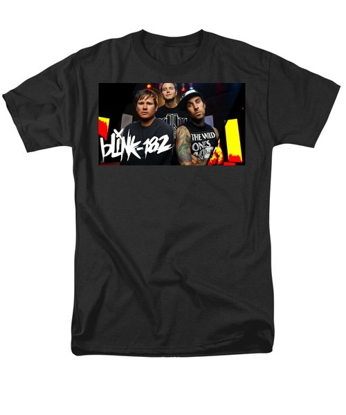 Blink 182 Collection Men's T-Shirt  (Regular Fit) by Marvin Blaine