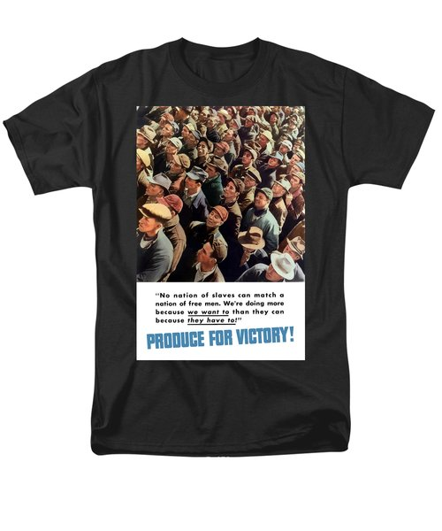 Produce For Victory T-Shirt by War Is Hell Store