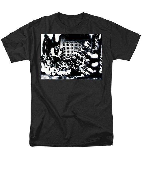 The Godfather T-Shirt by Luis Ludzska