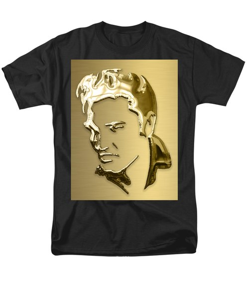 Elvis Presley Collection Men's T-Shirt  (Regular Fit) by Marvin Blaine