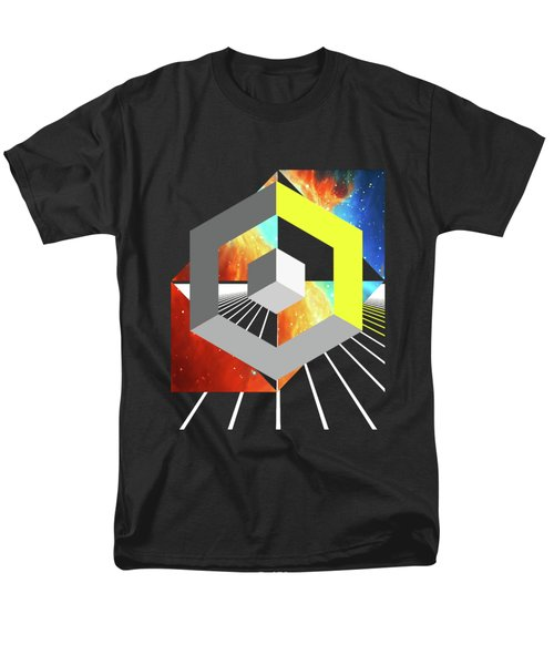Abstract Space 4 Men's T-Shirt  (Regular Fit) by Russell K