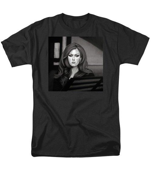 Adele Mixed Media Men's T-Shirt  (Regular Fit) by Paul Meijering