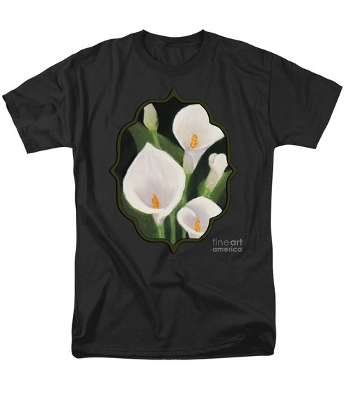 Calla Lilies Men's T-Shirt  (Regular Fit) by Anastasiya Malakhova