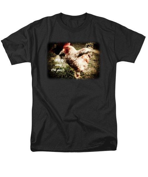 I'll Fly Away  Men's T-Shirt  (Regular Fit) by Anita Faye