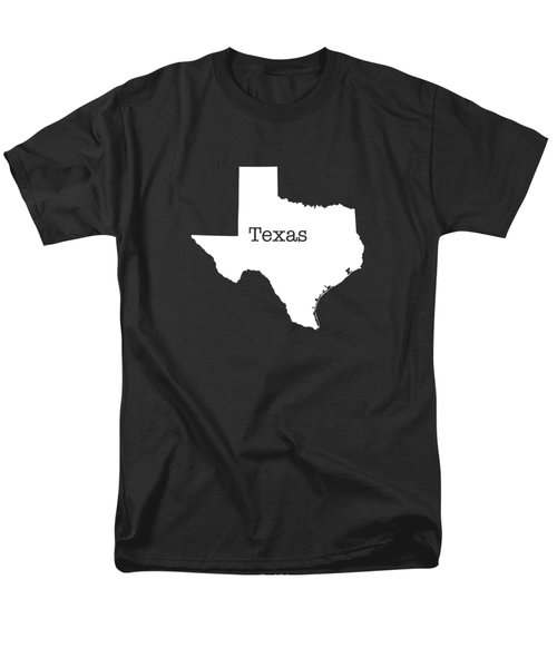 Texas State Men's T-Shirt  (Regular Fit) by Bruce Stanfield